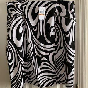 NWT Michael Kors Abstract Pencil Skirt